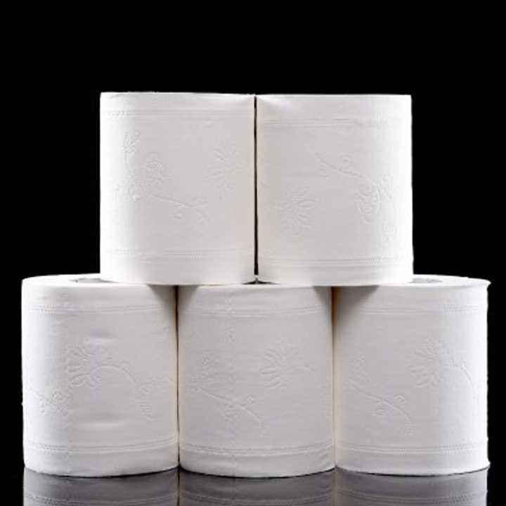 Hypoallergenic Toilet Tissue Paper Roll