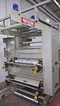 Flat Bag Making Machine w/ in-line Printer - Overhauled
