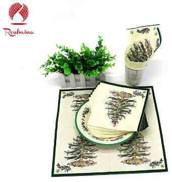 Party Plates and Napkins (Disposable Paper)