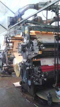 4 Color Flexographic Printing Machine - Stack Type