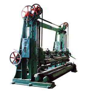 Up-drawing Rewinder