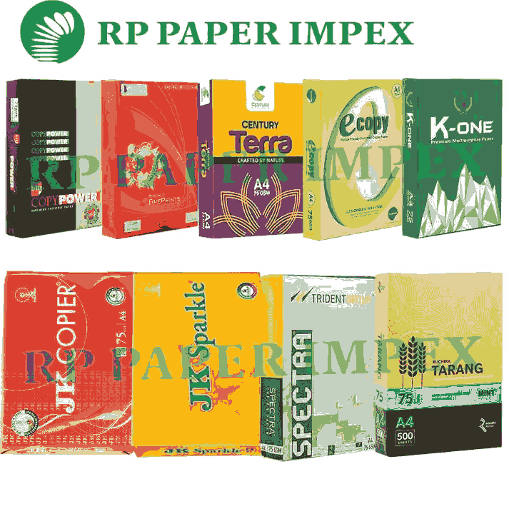 A4 75 GSM Copy Paper, High Brightness, Photostat Copier