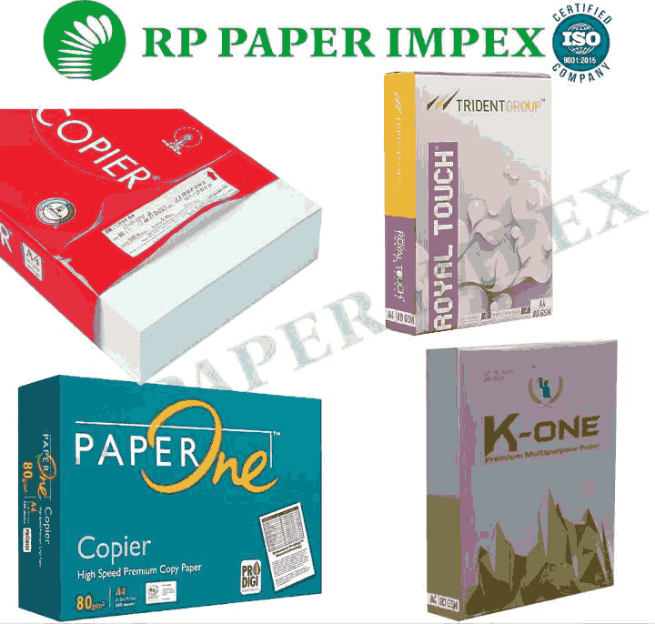 A4 80 GSM Copy Paper, High Brightness, Photostat Copier