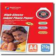 210G Inkjet High Glossy Photo Paper