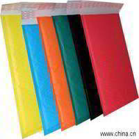 Colored Bubble Envelope