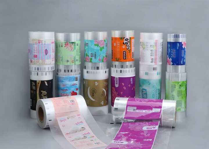 Plastic Film Roll for Automatic Tissue Paper Packaging