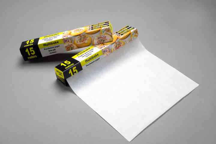 Baking Parchment Paper, Pan Liner, Siliconised Paper