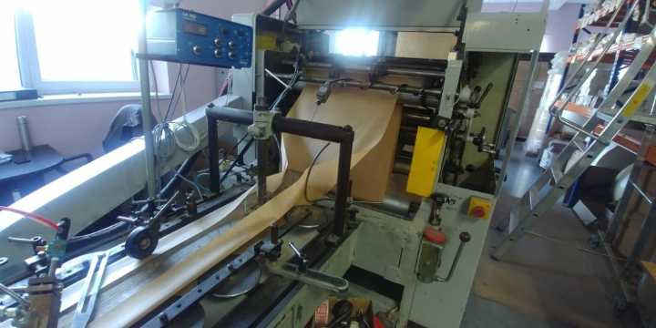 Used Flat/Satchel Bag Making Machine with Print /Window Unit