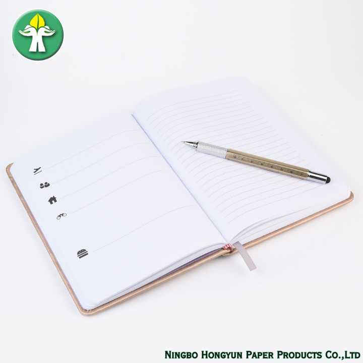 Office Notebook With Bookmark