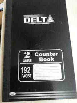 Exercise books / Counter Books