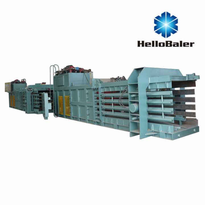 Hydraulic Waste Paper Press Baler