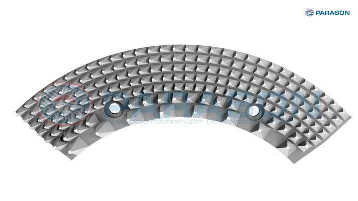 Parason Segmental Refiner Disc