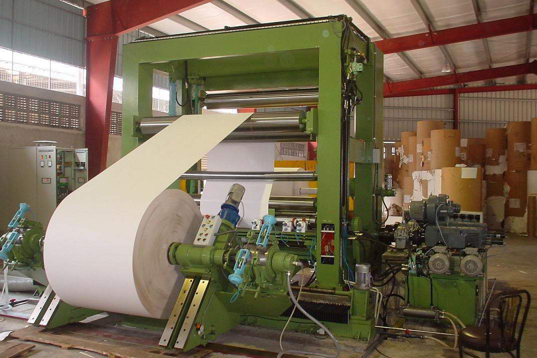 Twin Drum Slitter Rewinder