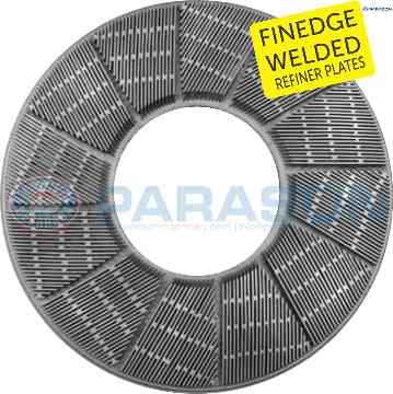 Finedge Welded Bar Refiner Plates
