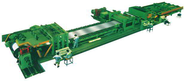 Samway Slitter Line Cut to Length Line