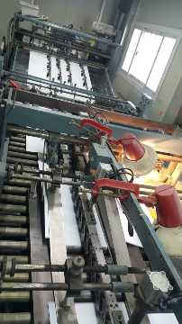 Sheet Fed SOS Bag Making Machine