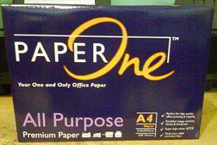 Paper One A4 80Gsm Paper All Purpose