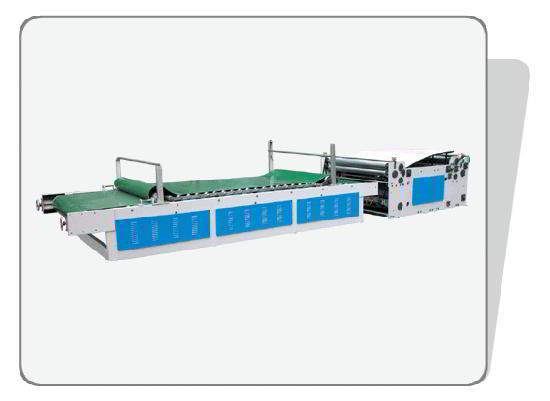 Surface sticking machine