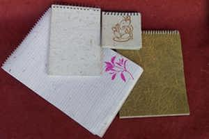 Handmade Paper Sprial Pads