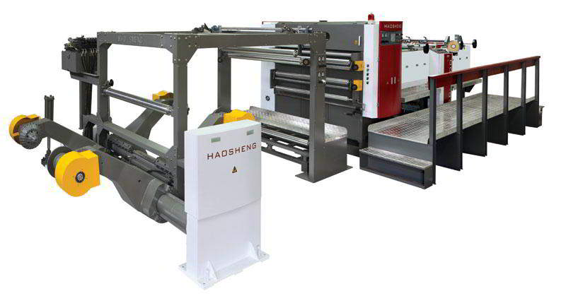 Servo Precision High Speed Sheet Cutter