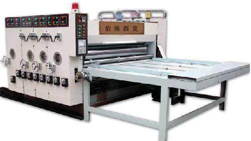 printing and slotting machine