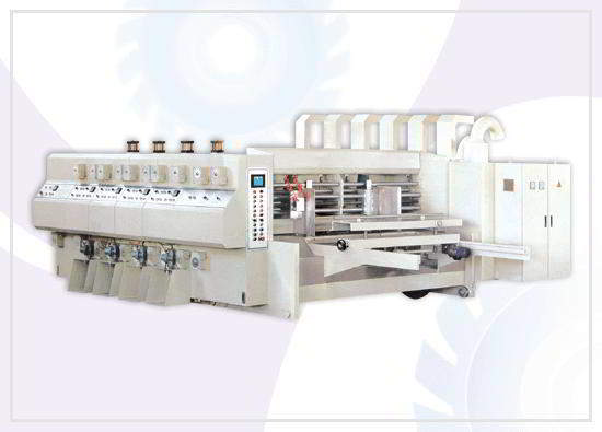 Automatic flexo printing slotting/die-cu
