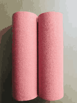 Recycled Paper Towels (Pale, Pink Coloured)
