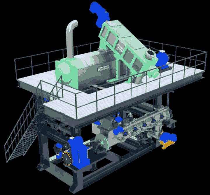 Mini Disperser Machine - For Pulp & Paper Mills