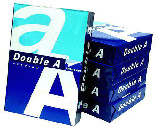 Double A A4 Copy Paper 80gsm 210mm x 297
