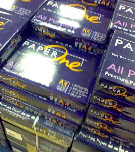 Paper one copier paper 80gsm