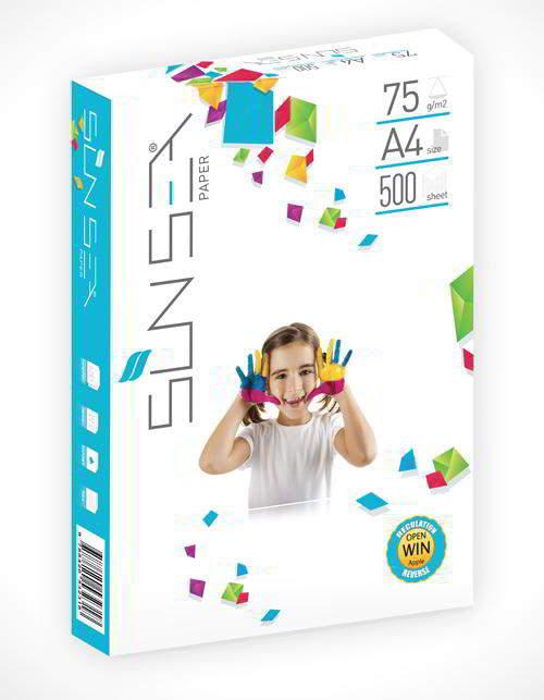 SUNSEA PAPER A4 75GR.