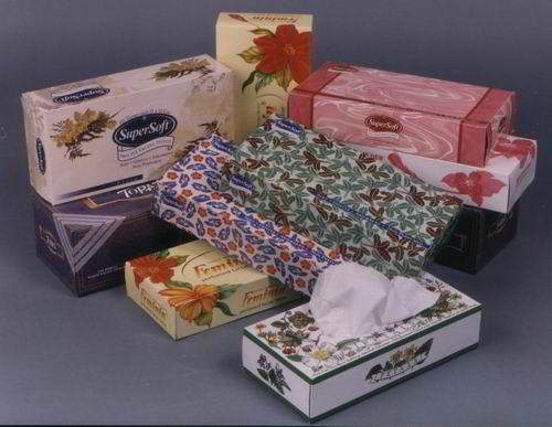 Rectangle Box Facial Tissue/face paper