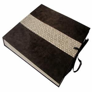 Jali Photo Album Black Color