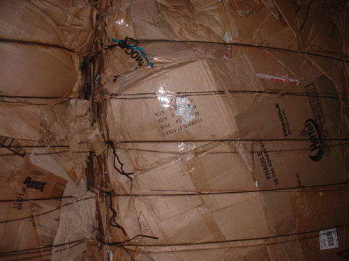 100% Old corrugated carton scrap ready