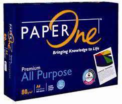 Paper One  A4 Copy Paper 80gsm/75gsm/70g