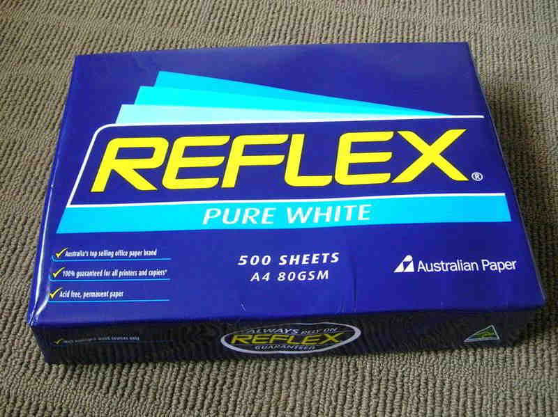 Reflex Ultra White Copy Paper 80gsm/75gs