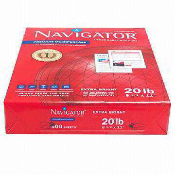 Navigator Letter Size 8.511,75gsm and 80