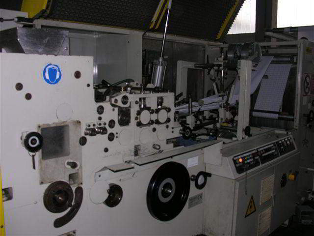 Flat Bag Making Machine with Printer