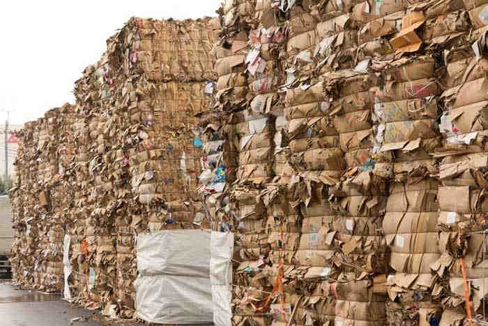 Waste Paper of Various Types