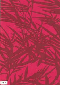 Bamboo Paper Sheet - Red Color