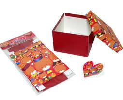 Festival Gift Box - Maroon Color