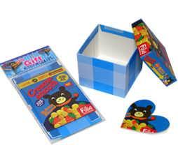 Gift Box  For Festival - Blue Color