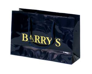 Hot Stamping Paper Bag - Black Color