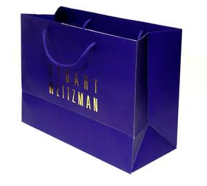 Hot Stamping Paper Bag - Navy Color