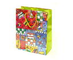 Laser Film Paper Bag - Multi Color